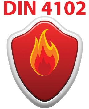 30 minuten brandwerend volgens DIN 4102