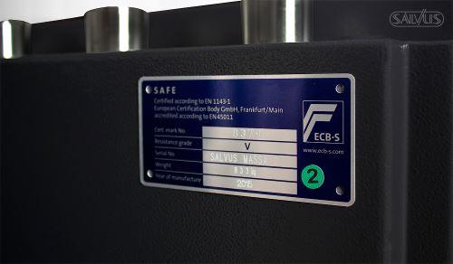 Salvus Massa detail label