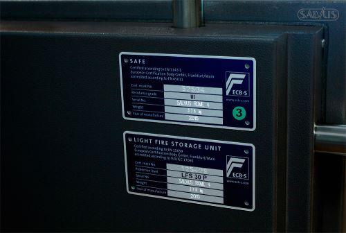 Salvus Rome Labels Certificering
