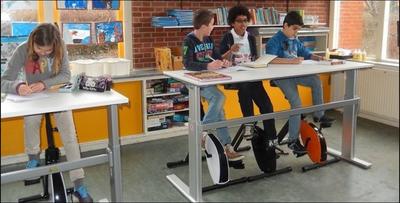 Deskbike geschikt voor kinderen