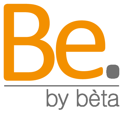Be by beta logo