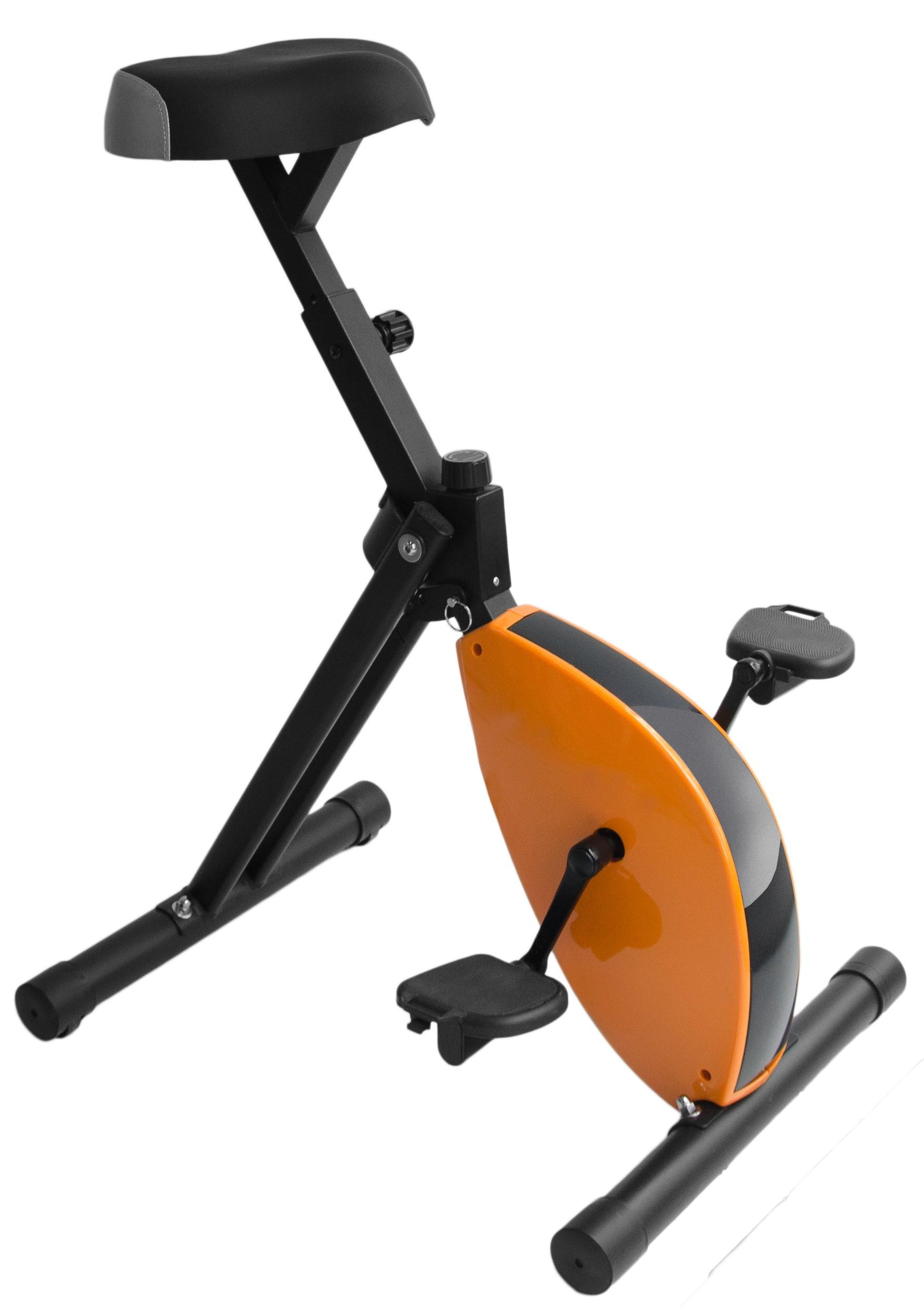 Deskbike Oranje Zwart