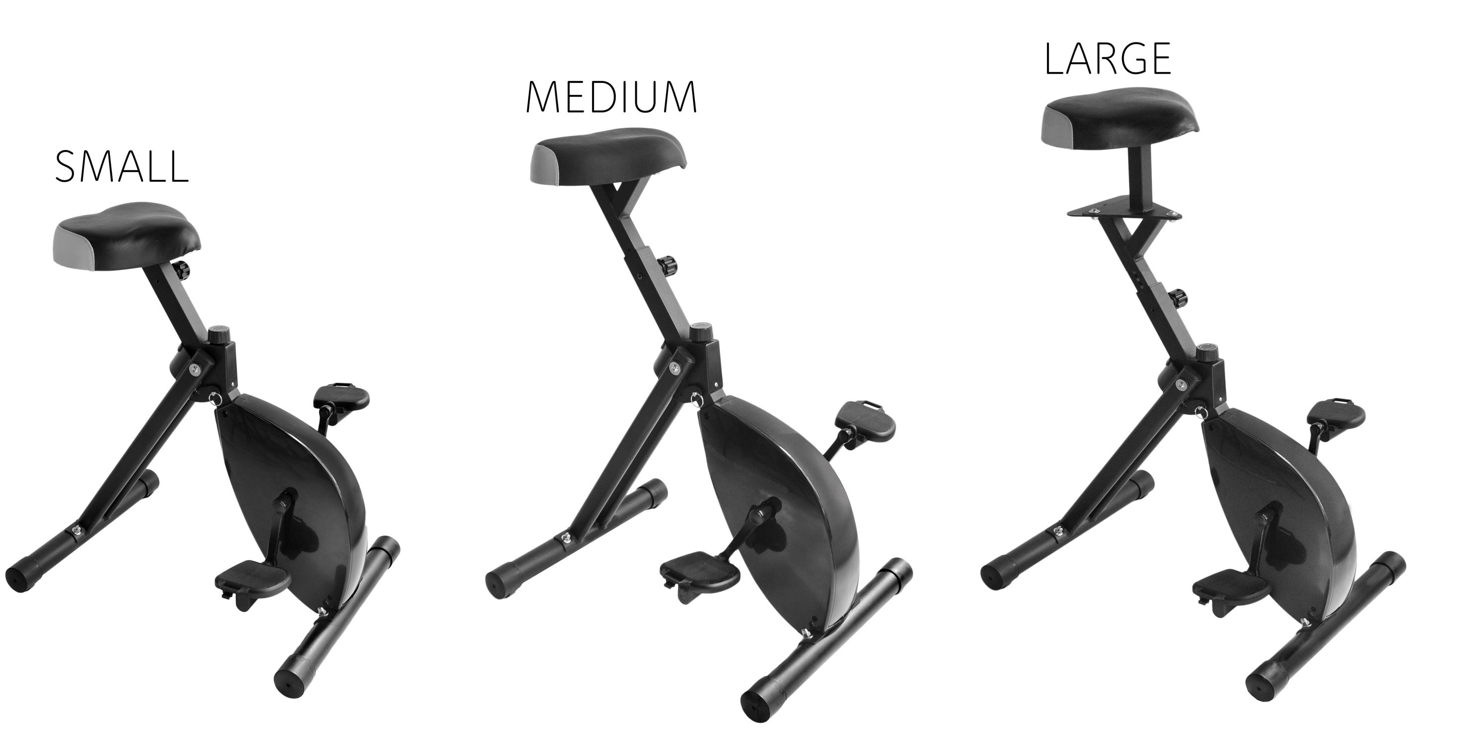 Deskbike Small Medium Large
