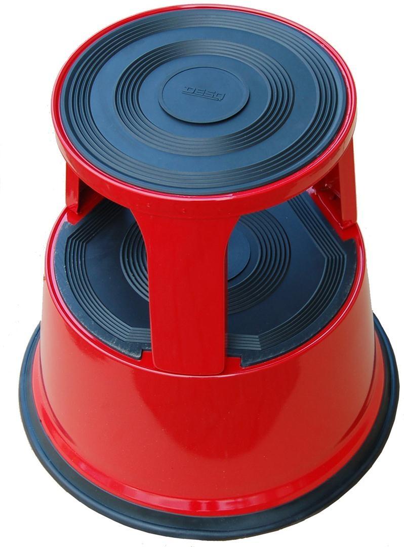Roll-a-Step metaal Rood