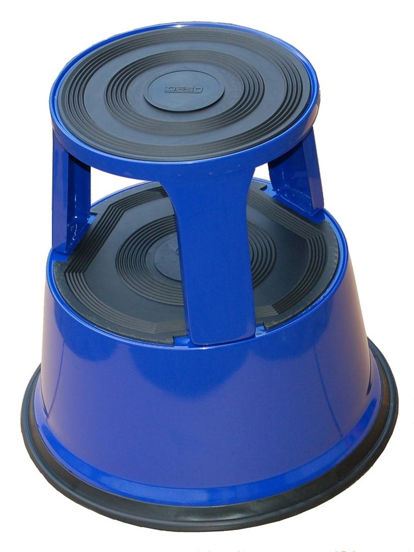 Roll-a-Step metaal blauw