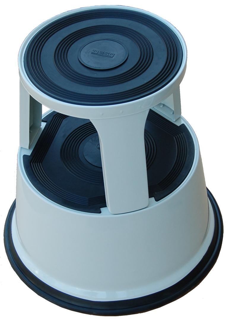 Roll-a-Step metaal grijs