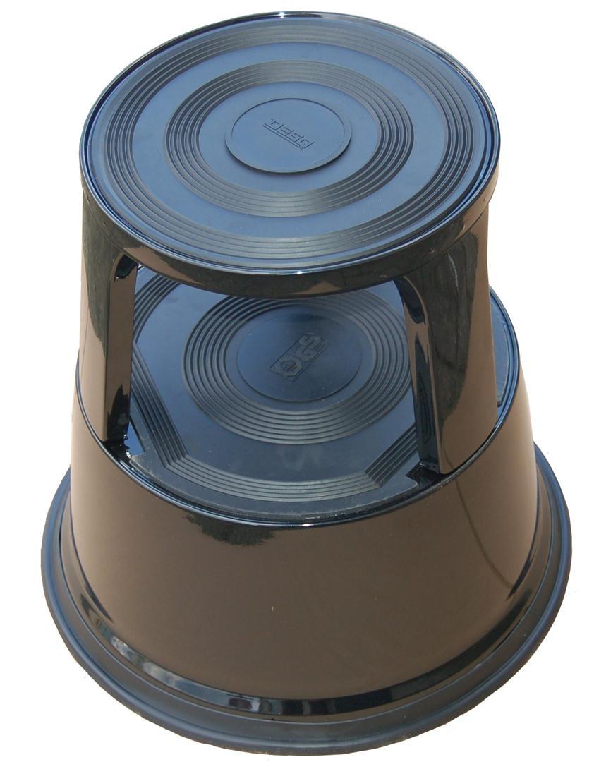 Roll-a-Step metaal zwart