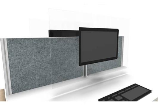 Markant Vesa monitorscherm