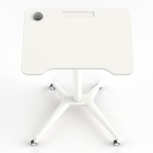Single Leg Desk Wit 2