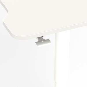 Single Leg Desk Wit 4