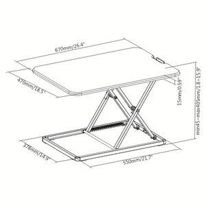 Ultra Slim Mini Desk afmetingen