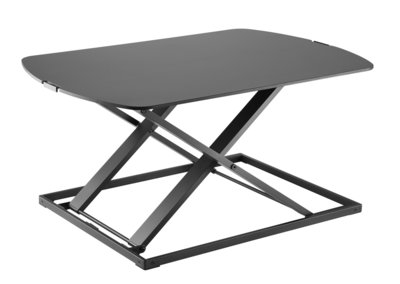 Ultra Slim Standing Desk Zwart