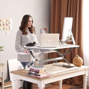 UPdesk XL Wit 3