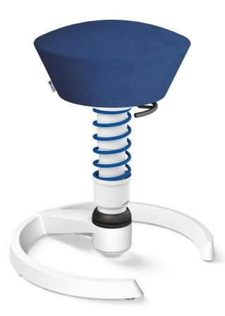 Swopper frame wit microvezel blauw