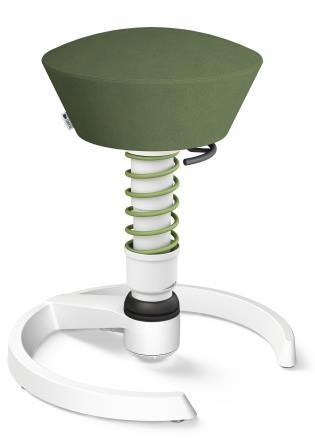 Swopper frame wit microvezel groen