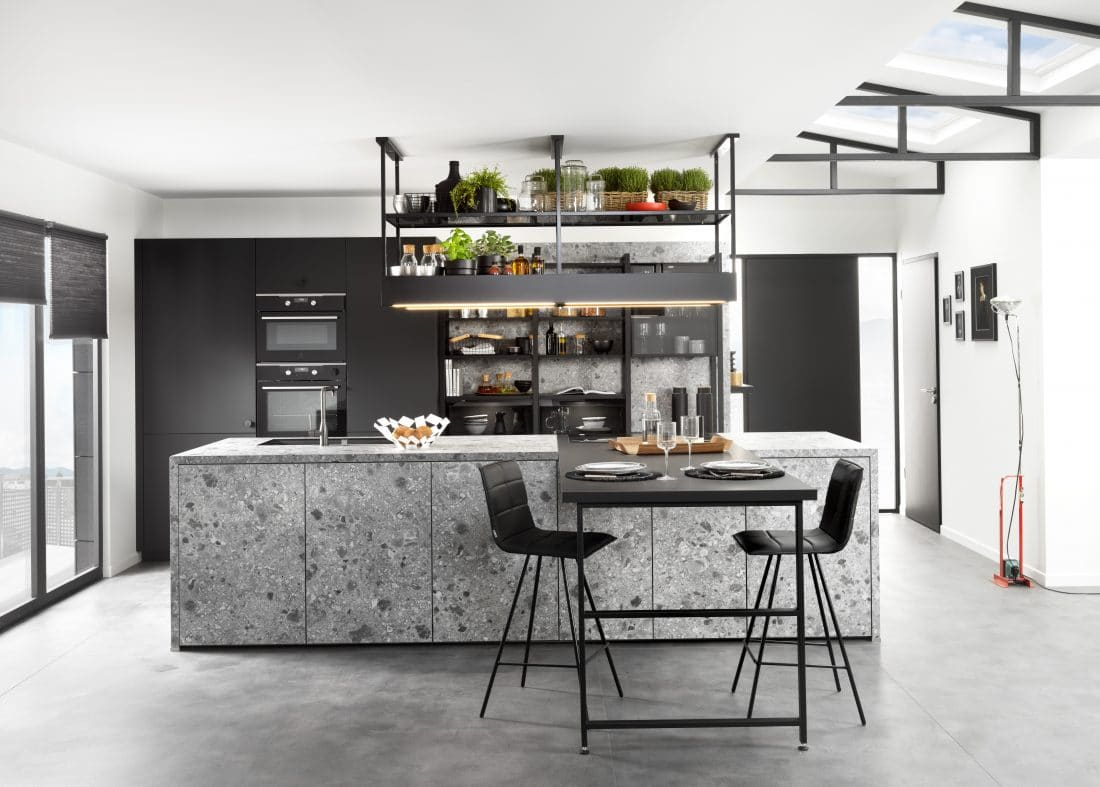 Sch Cuisine Arcos Edition Terrazzo Arcos Supermat Nano Black C03 A1 Scaled