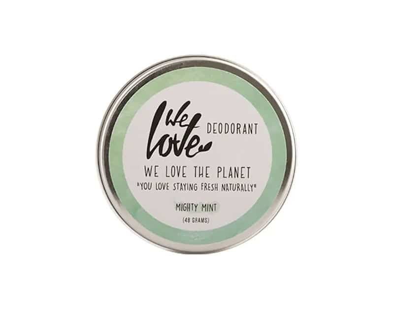 100 natural deodorant mighty mint 1