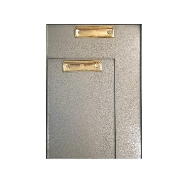 Clipboard metal green 5