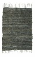 Recycled rug pine greenl