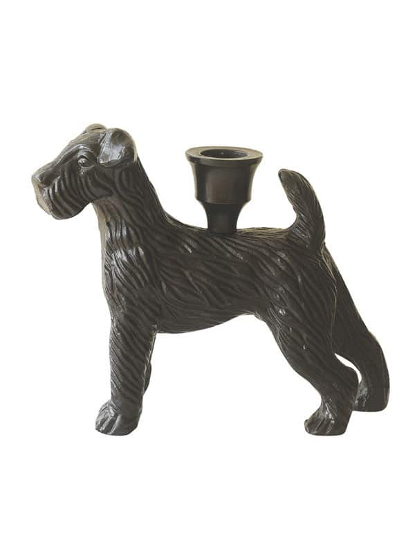 Candlestick dog black