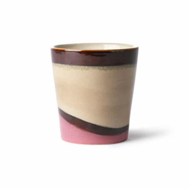 Ceramic coffee mug dunes