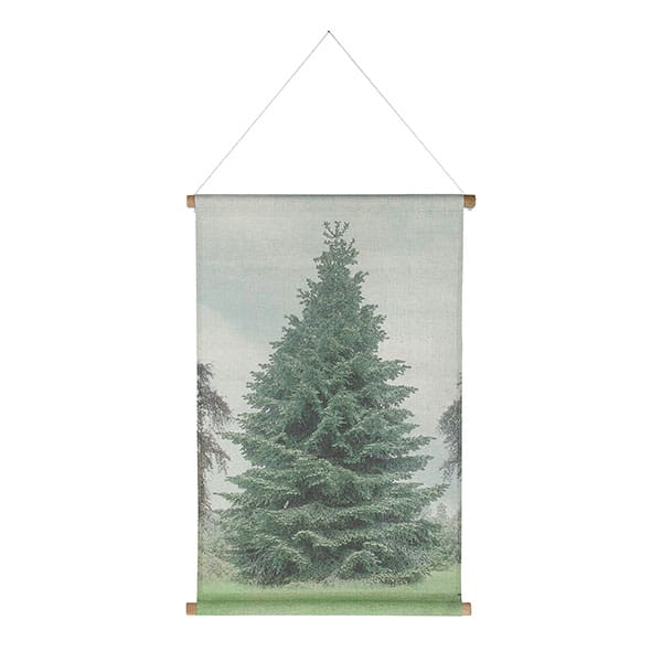 Christmas tree wall plate size medium