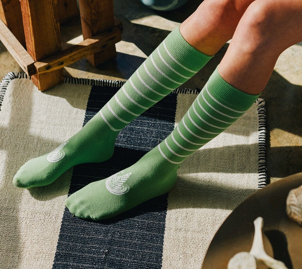 Matchalattesocks in the green