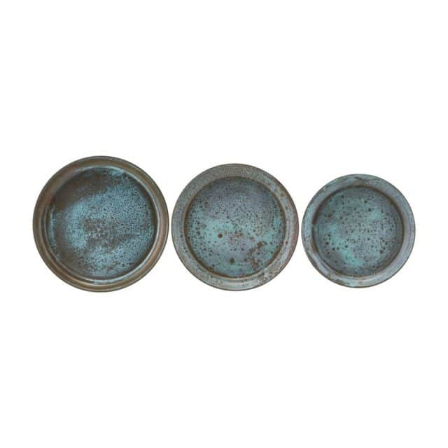 Rustic coasters set from 3