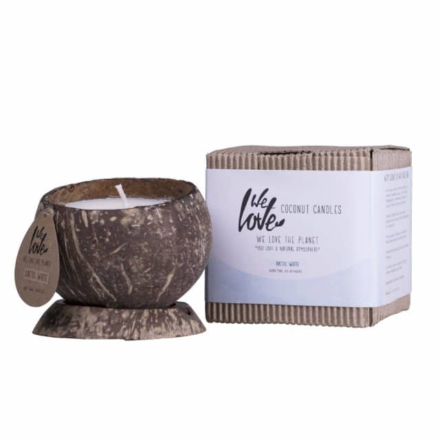 Soy candle arcticwhite