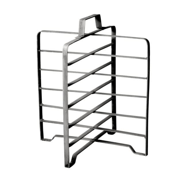 Zinc plate rack for 6 plates