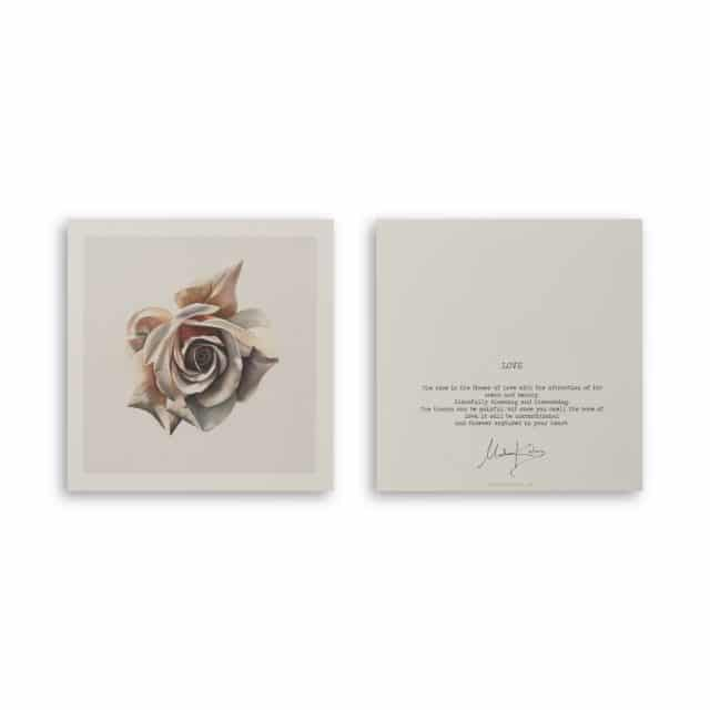 Rose Art Card Scaled