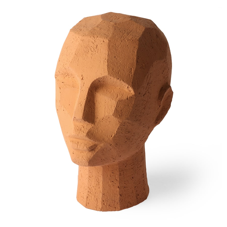 Trp Post Container Data Trp Post ID 11626 Abstract Head Sculpture Terracotta Trp Post Container