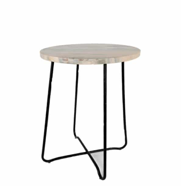 Side tables Marble Pink Mrs Bloom