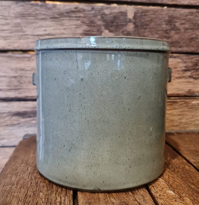 Gina Da Earthenware Pot Olive Gray 2