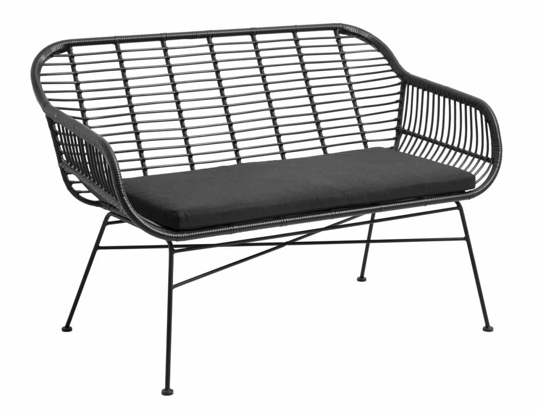 Trp Post Container Data Trp Post Id 15003 Garden Bench Black With Cushion Trp Post Container