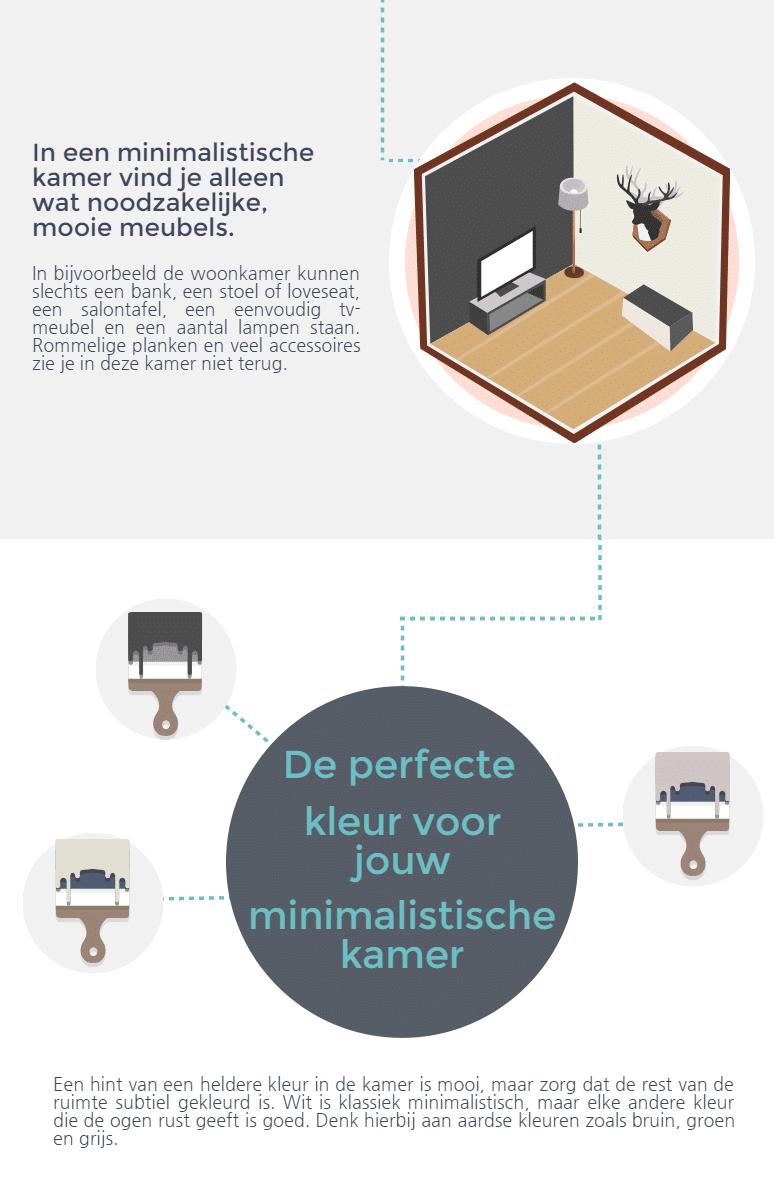 Infographic Minimalistisch Wonen