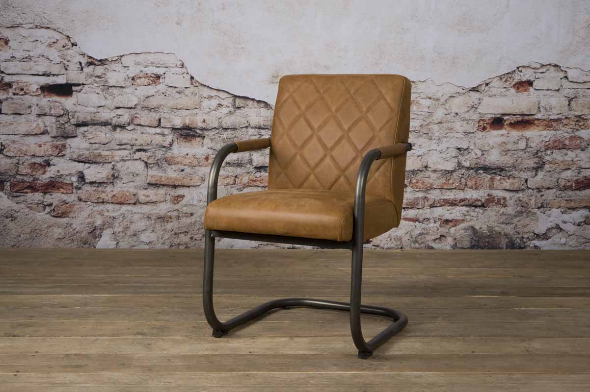 Buffalo Leather Cognac