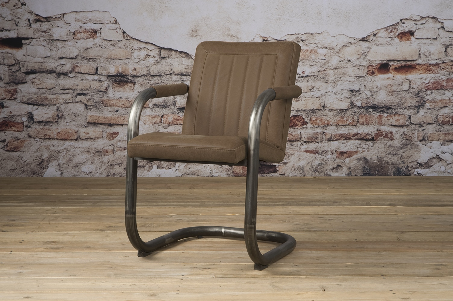 Lm 0038 Lasso Armchair Leather Taupe V
