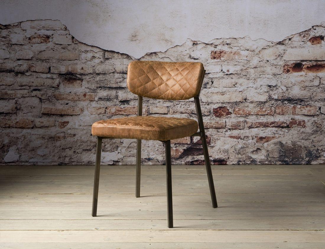 Nc 0083 Altea Sidechair Fabric T Cognac V