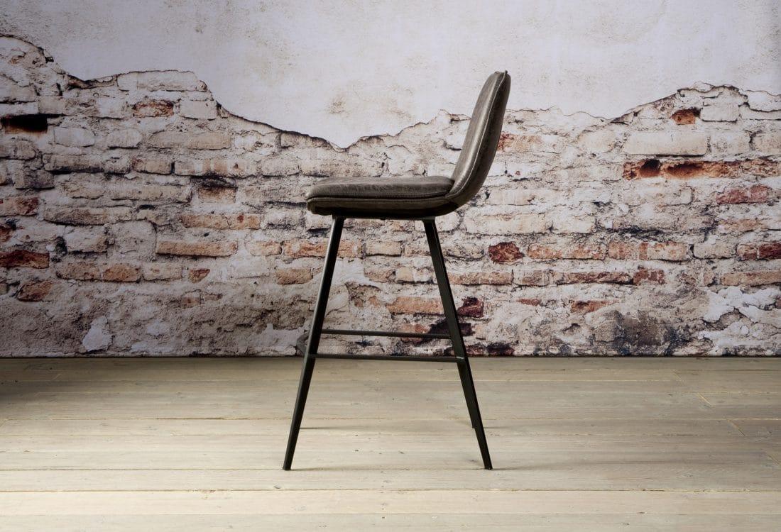 Nc 0114 Pamplona Barstool Fabric T Antracite Z