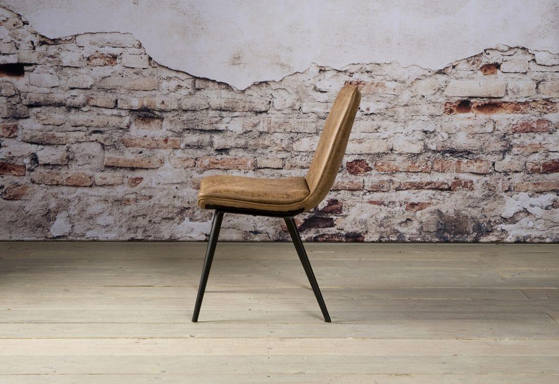 Nc 0117 Pamplona Sidechair Fabric T Cognac Z