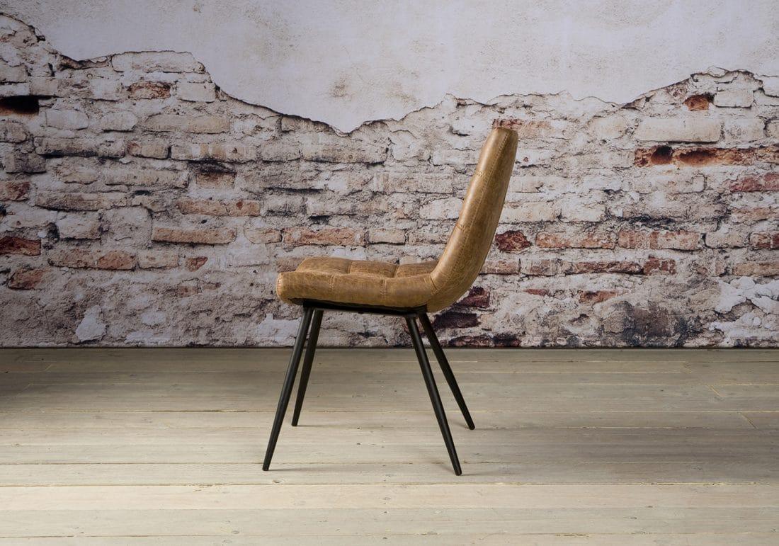 Nc 0121 Navarra Sidechair Fabric T Cognac Z