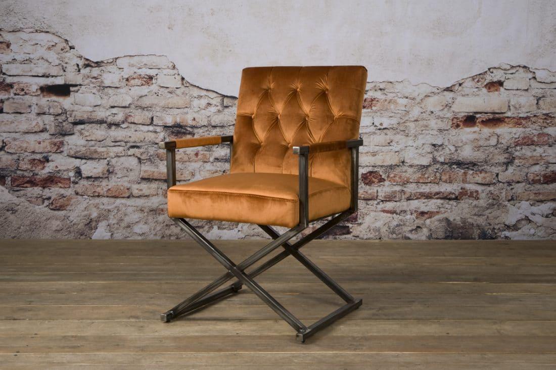 Tx 0011 Oldham Armchair Oranje 301 V 1