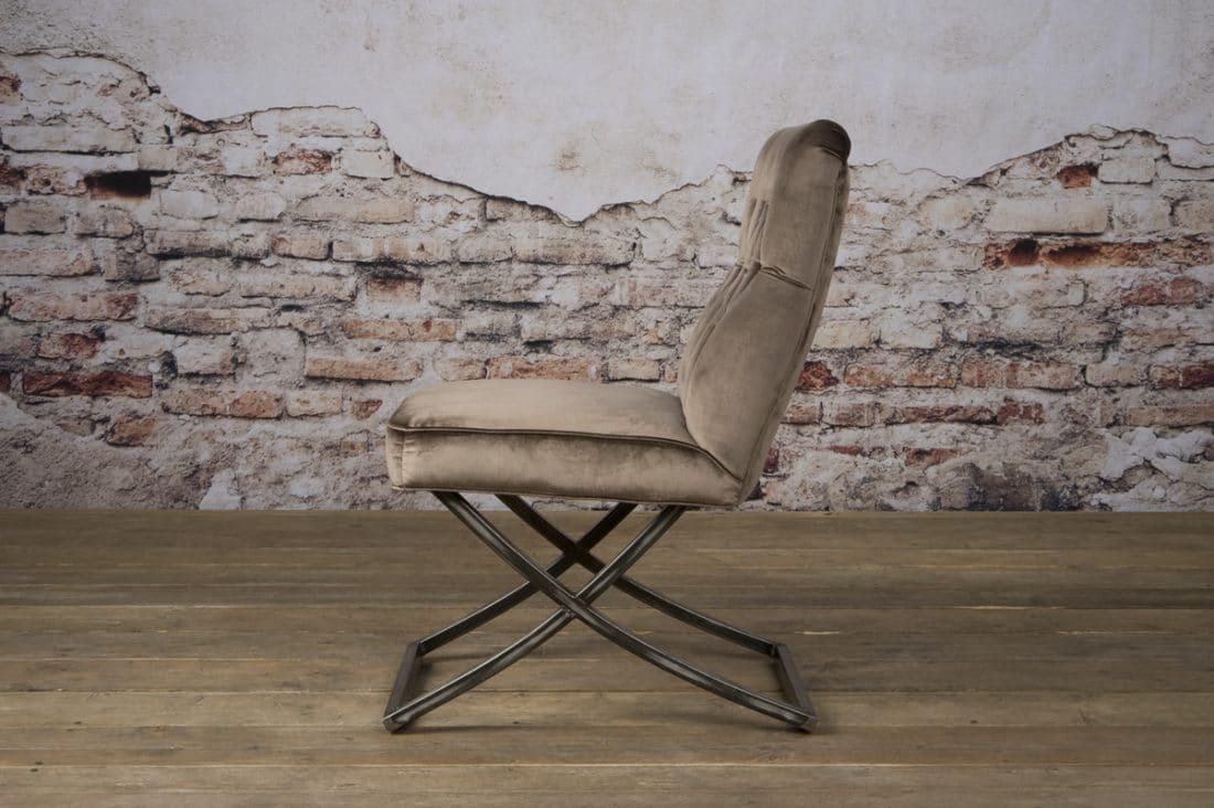 Tx 0058 Bolton Sidechair Taupe 101 Z