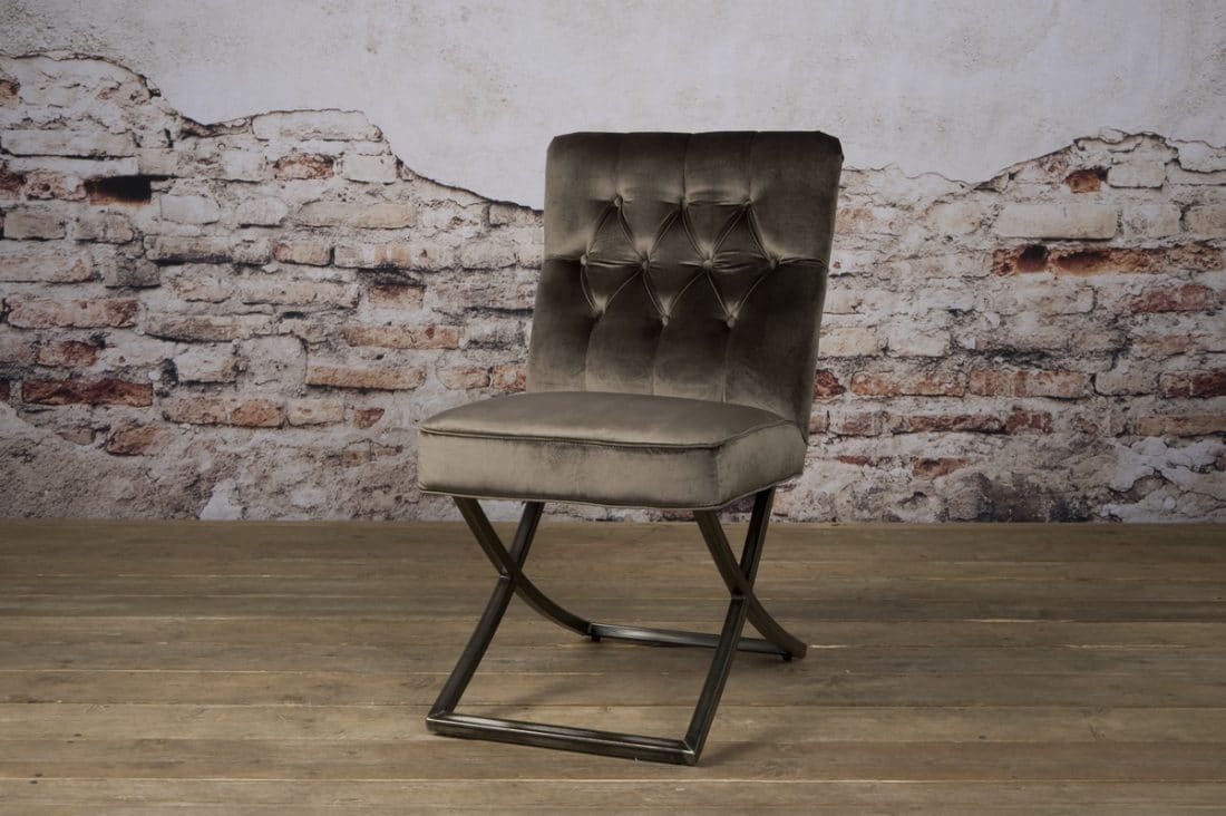 Tx 0060 Bolton Sidechair Donker Beige 100 V