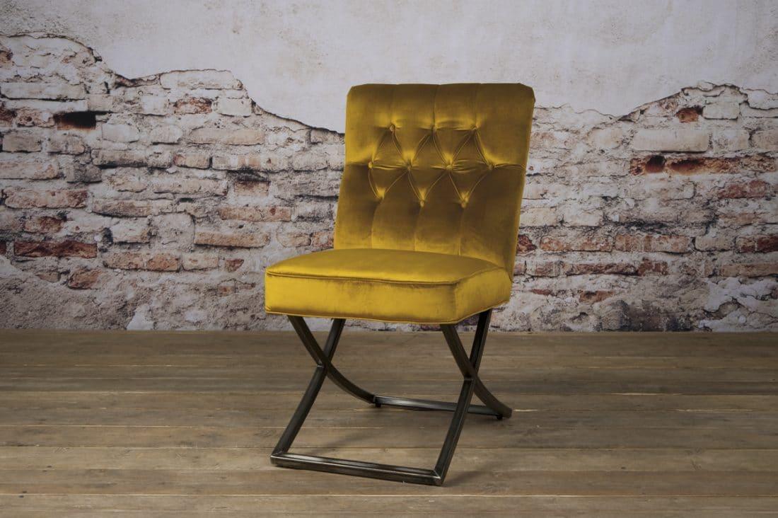 Tx 0065 Bolton Sidechair Geel 401 V