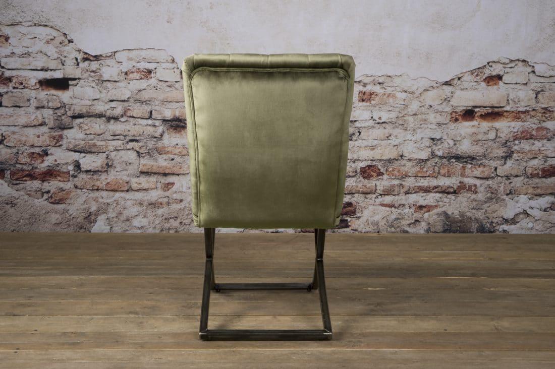 Tx 0066 Bolton Sidechair Oud Groen 504 A