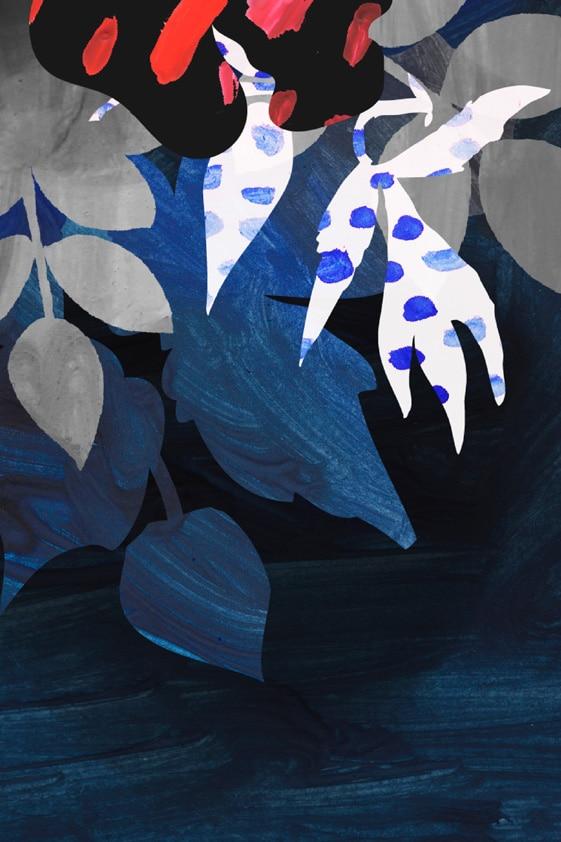 Schilderij Summer Night Memory