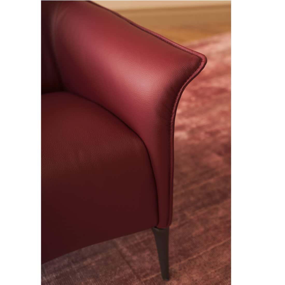 Leolux Mayuro Fabric Red 0001 2 Scaled