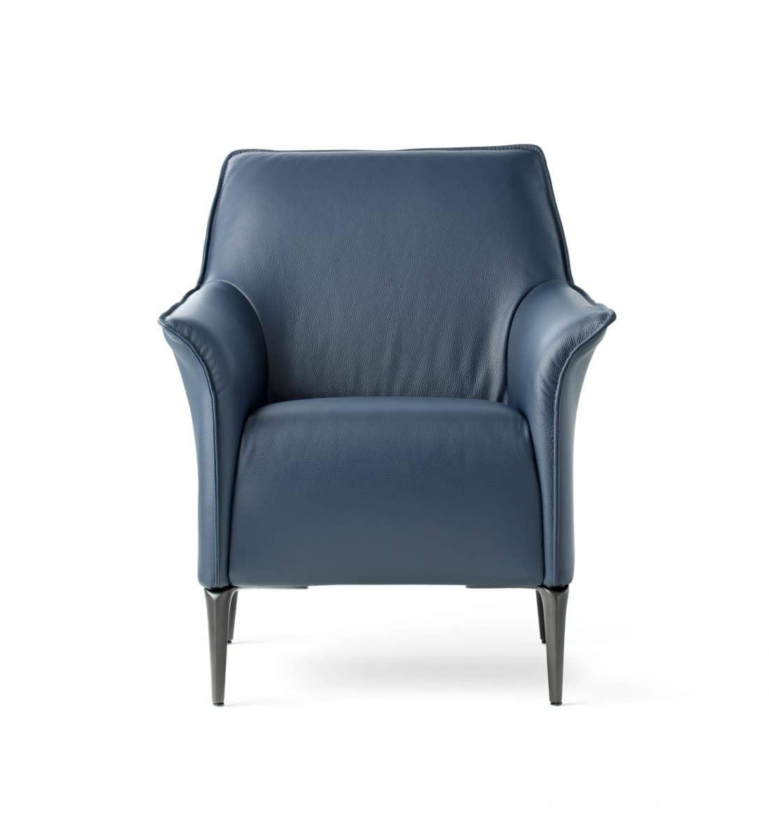 Leolux Mayuro Leather Blue 0002 Scaled